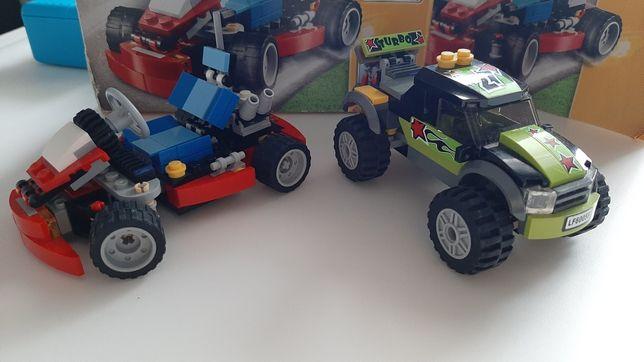 Lego gokard i monstertrack