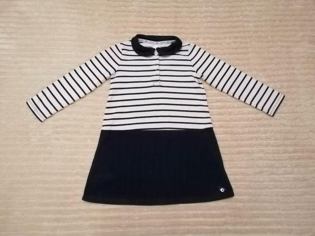 Платье плотное нарядное тёплое 3-4г.98-104р next zara h&m