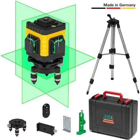 STIF - 3D Лазерный уровень на 12 линий. Нивелир 3х360° + Штатив