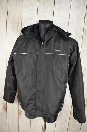 SLAZENGER kurtka męska zimowa ROZ M/L czarna