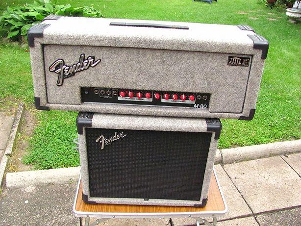 Zestaw - Wzmacniacz gitarowy głowa Fender M-80 + kolumna Fender HM1-12