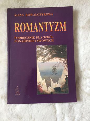 """Książka podręcznik """"Romantyzm"""" A. Kowalczykowa"""