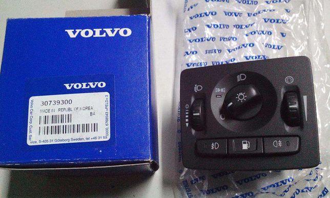 Botão/ comutador de luzes Volvo C30, C70, S40, V50 e pisca S40