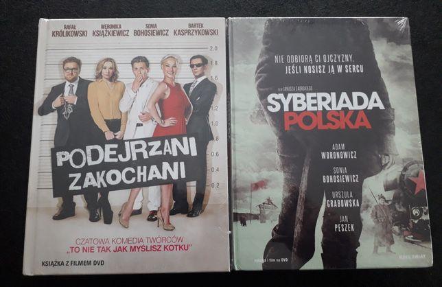 Polskie filmy Syberiada, Podejrzani zakochani, nowe w folii.