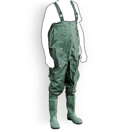 M13393 Spodniobuty WODERY gumowce wędkarskie rozmiar 43 nieprzemakalne