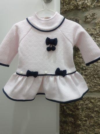 Vestido menina 6 meses