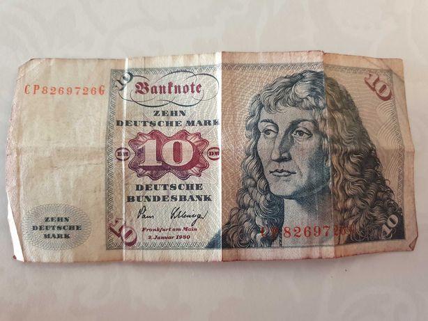 10 marek niemieckich banknot