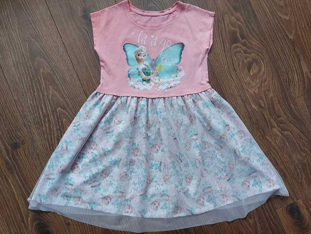 Sukienka Kraina lodu rozmiar 122