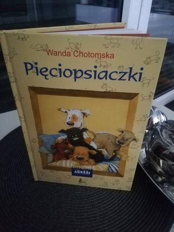 Wanda Chotomska Pięciopsiaczki