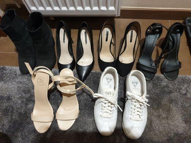 Buty 37 paka butów szpilki botki carinii zara