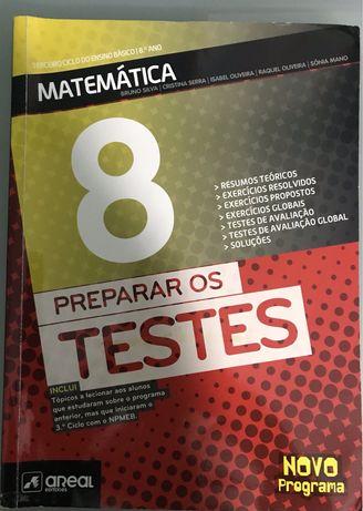 Manual de Preparação para os testes de Matematica- 8ºano