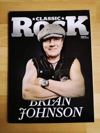 CLASSIC ROCK nr 60, 05/2017 - AC/DC Brian Johnson