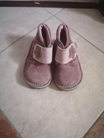 Buty skóra 21 dziewczynka
