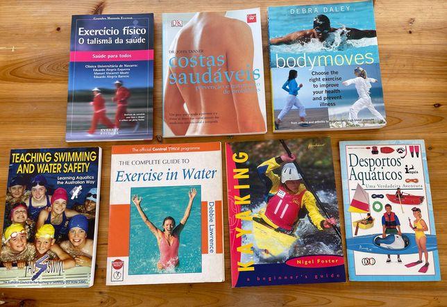 Livros Desportos Aquáticos e Exercício