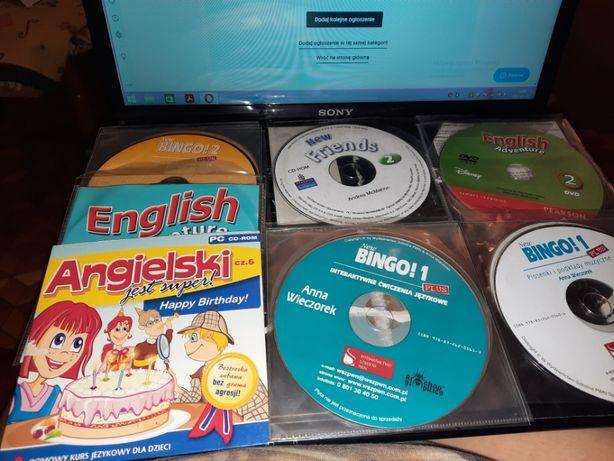 Kurs języka angielskiego dla dzieci na CD