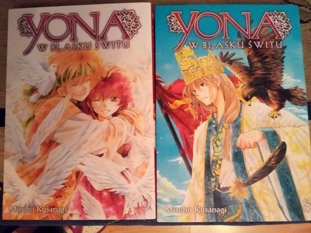 """Manga """"Yona w Blasku Świtu"""" tom 8 i 9, Studio JG, shojo"""