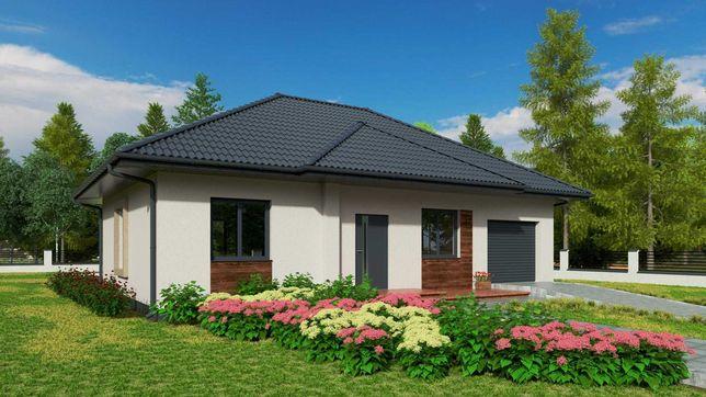 Dom z keramzytu - nawet w dwa miesiące, projekt domu gratis! Śrem