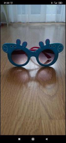 Okulary peppa dla dziewczynki