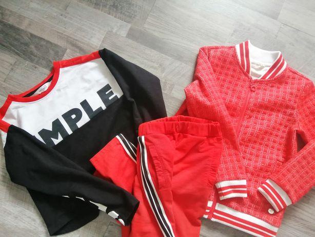 COCCODRILLO na sportowo i czerwono