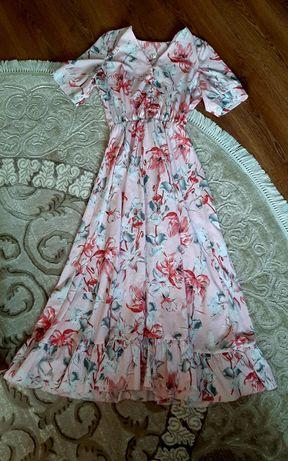 Платье Пудра у косички