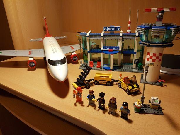 Lego city 3182 wielkie lotnisko airport 100% klocków
