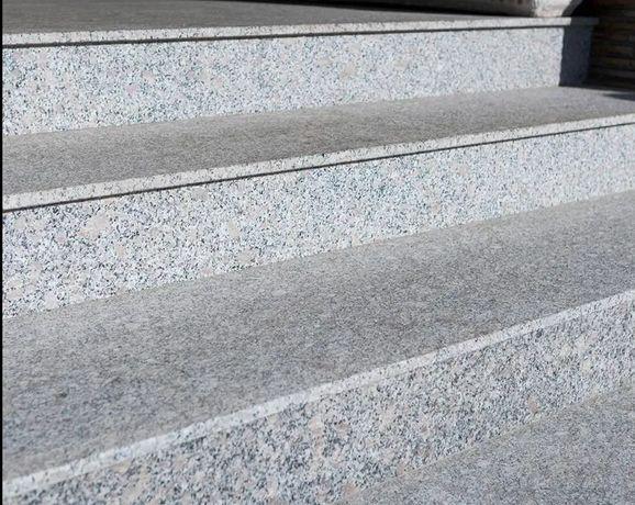 Płytki Granit Płomieniowane Polerowane Płyty Stopnie schody Granitow