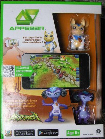 Wyprzedaż Zabawek: AppGear AKODOMON Gra AR Android/IOS +2 Figurki