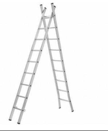 Escada alumínio 3 x 3 mts