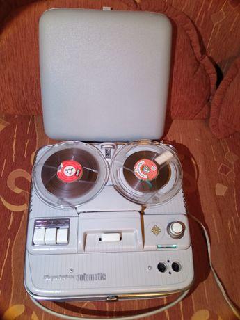 Magnetofon szpulowy Telefunken automatic 1962r. Unikat
