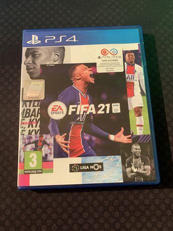 Fifa 21 PS4 / PS5 - Playstation 4 / 5 (2021)