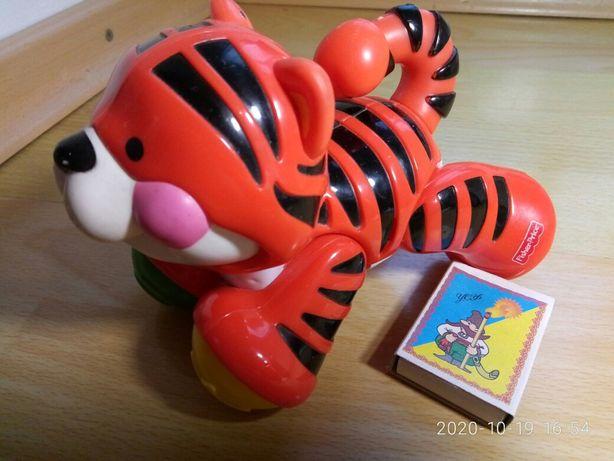 Животные трещетки Fisher Price тигр
