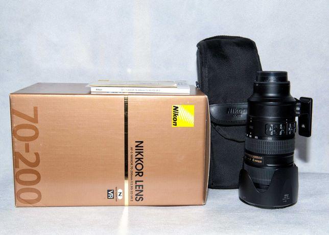 Obiektyw Nikon AF-S Nikkor 70-200 1:2.8GII ED
