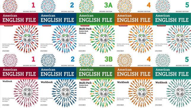 American English File 2nd Edition (КНИГА+ЗОШИТ)