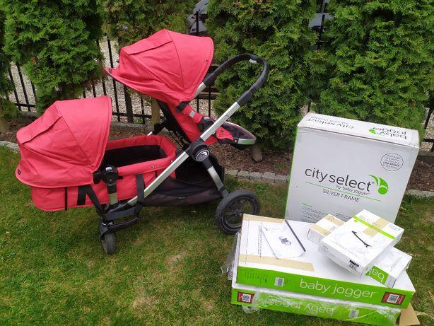 Baby Jogger City Select Double - wózek dla bliźniąt