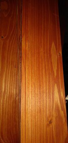 Deska drewniana elewacyjna szalunkowa podbiciowa świerk 22mm 12cm3