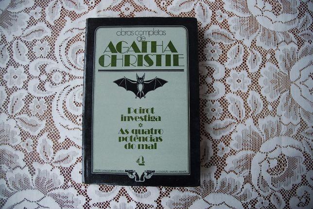 Livro Agatha Christie. Envio por correio.