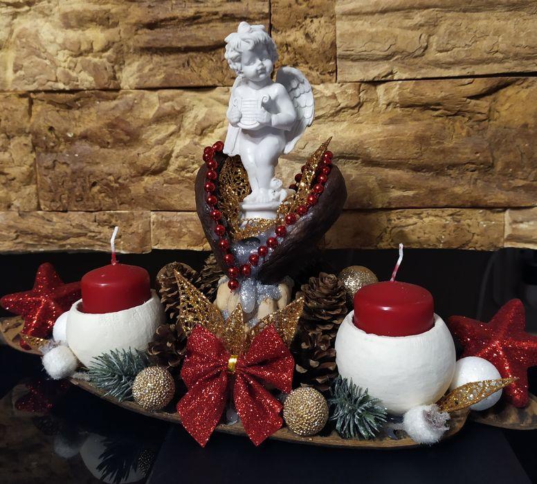 Stroik świąteczny /ozdoby świąteczne /Handmade Słupsk - image 1