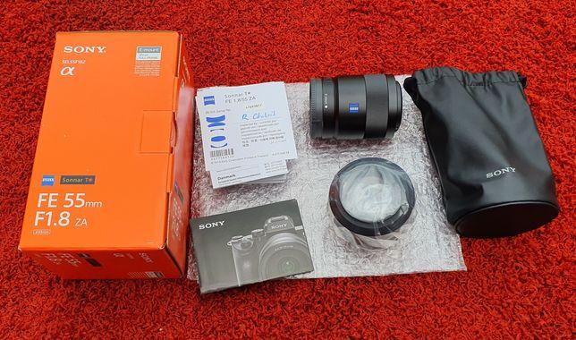 Obiektyw Sony 55mm f/1.8 fE ZA Carl Zeiss Sonnar T
