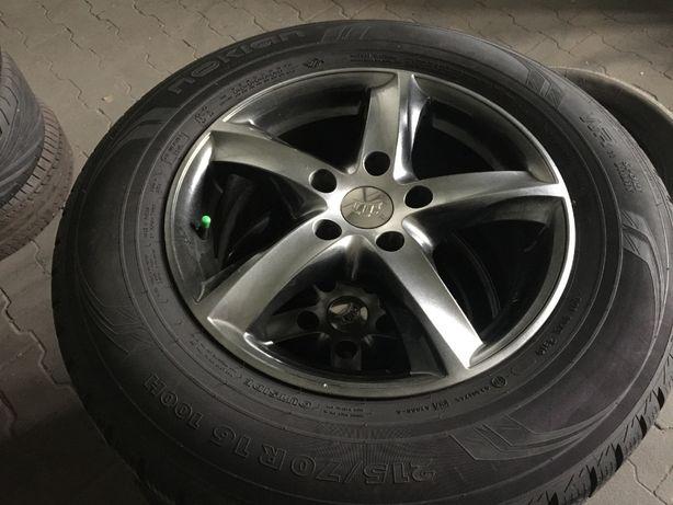 """Koła Kia Nissan Toyota itd 215/70/16 jak NOWE!!! 16"""" 5x114,3"""