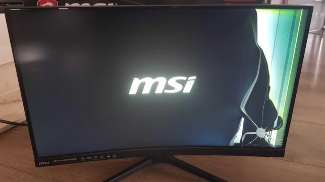 Monitor MSI MAG241C - uszkodzony