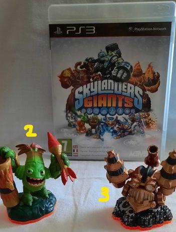 PS3 - Skylanders Giants - Criaturas fantásticas em busca de desafios!