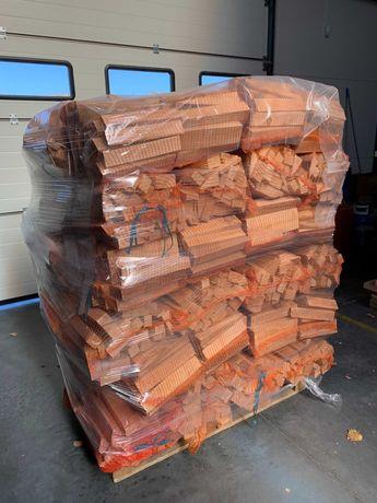 Drewno Kominkowe Opałowe Suche Buk Paleta 36x20kg