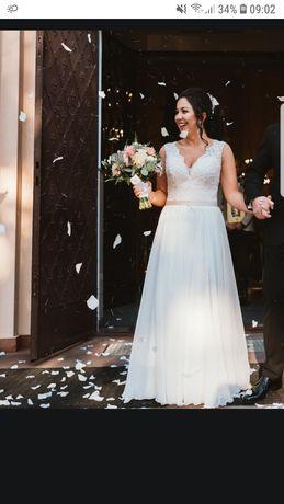 Suknia ślubna dla niskiej PM