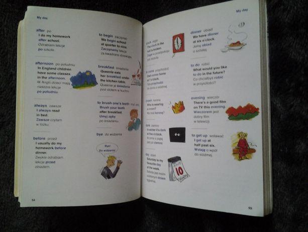Ilustrowany slownik ucznia angielsko-polski dla malych dzieci