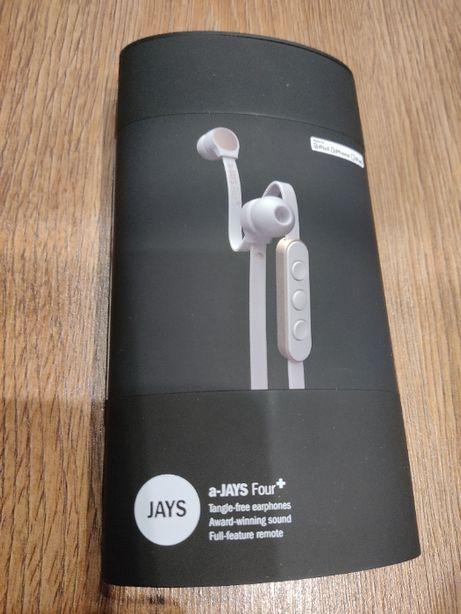 Słuchawki JAYS a-JAYS Four+ do iPhone iPad Nowe