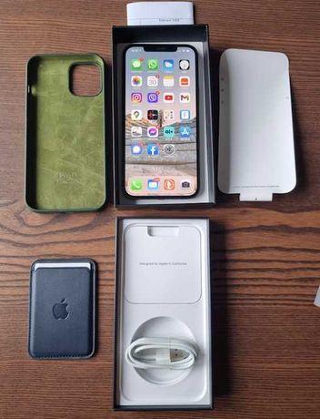 Apple iPhone 12 Pro Max 128 GB grafitowy gwarancja 14 miesięcy PL dyst