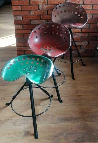 Hoker, oryginalne siedzisko, krzesło barowe, styl loftowy