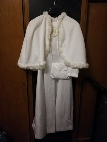 Alba sukienka komunijna plus akcesoria