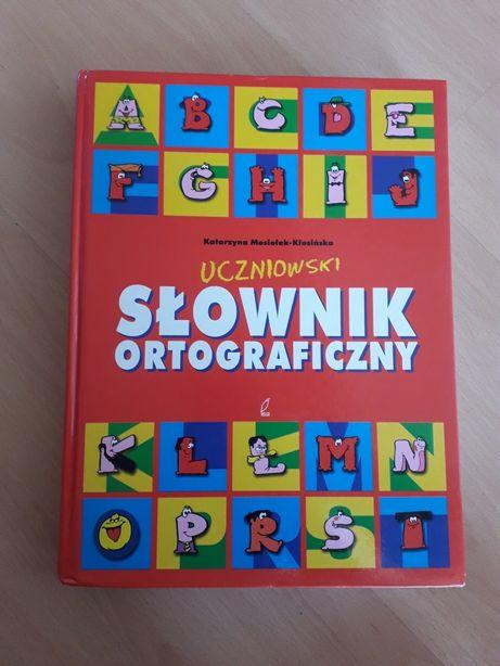 Uczniowski słownik ortograficzny