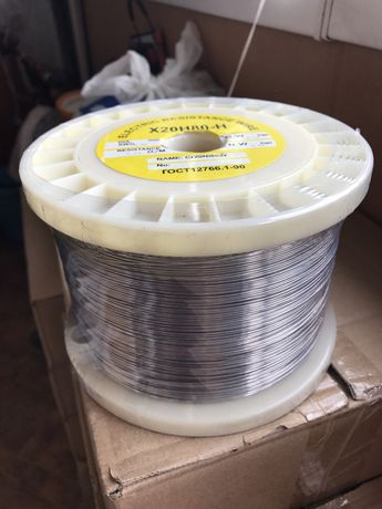 НИХРОМ проволока ф0,05-10,0мм,Х20Н80, стоимость от 890грн/кг